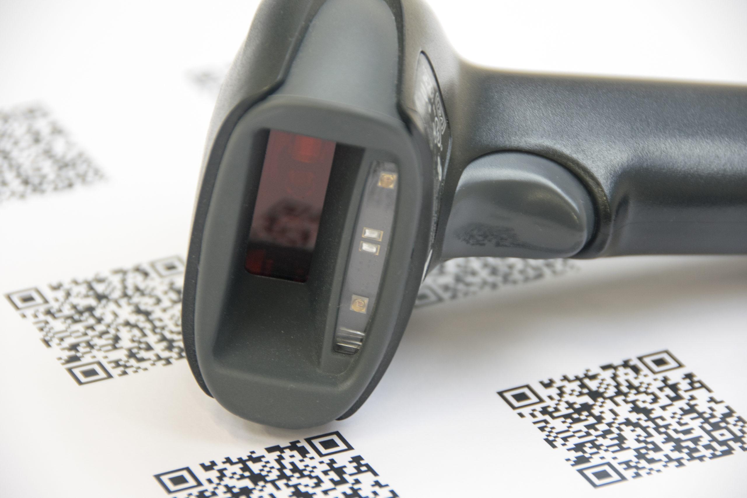 scanner for registration in MIRA Software